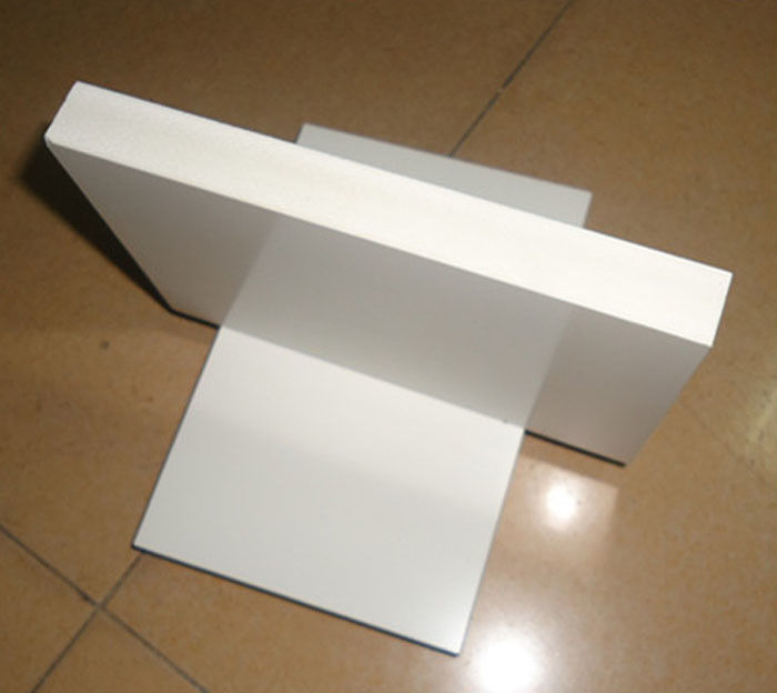 Anti Moisture Sintra PVC Foam Board , Flame Resistant Foam Board For Kitchen Cabinet